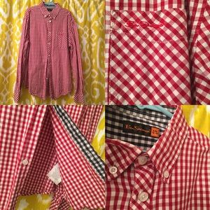 BEN SHERMAN Cotton Checkered Shirt - 11-12 Y.O.